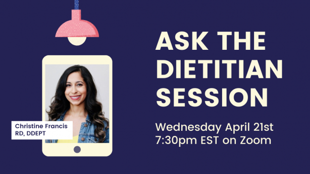 04/21/2021: PSP Society of Canada ASK THE DIETITIAN Session – (Remote)